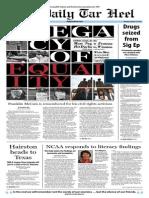 The Daily Tar Heel for January 13, 2014