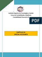 Special Accounts