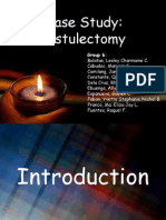 Case Study Fistulectomy Ppt.