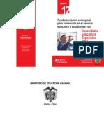 Fundamentación conceptual para la Atención de las NEE