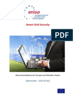 Smart Grid Securityenisa Recommendations