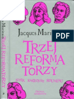 Maritain-Trzej Reformatorzy (Luter, Kartezjusz, Rousseau)