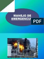 Control de Emergencia y Primeros Auxilios