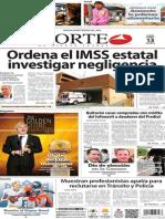 Periódico Norte edición impresa día 13 de enero 2014