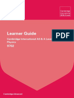 150290 Cambridge Learner Guide for as and a Level Physics