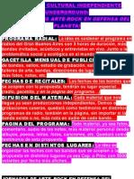 Propuesta Cultural Independiente Underground