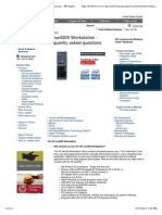HP Xw4300 Workstation Frequently Asked Questions - HP Small & Medium Business Products