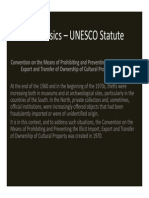 Unesco protection of cultural property