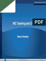 Au Wadekar Nic Teaming 1108 v1