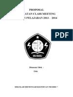 Proposal Clas Meeting Smkn 7