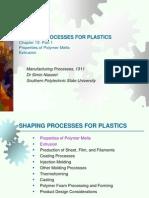 Ch13 1 PolymerMelt&Extrusion