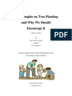 Tree Planting Reflection Paper
