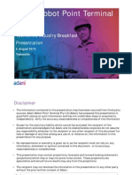 Townsville Industry Breakfast Presentation - 05082013