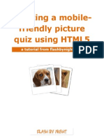 HTML5 Picture Quiz Tutorial