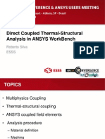 Coupled Thermal Stress Analysis seminar