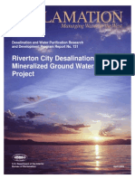 Report131 Desalination of Mineralized Ground Water