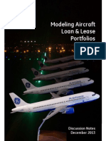 Modeling Aircraft Loan & Lease Portfolios