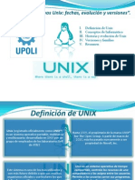 Presentación Unix clase INT. ING.