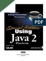 Special Edition Using Java 2 Platform - Que
