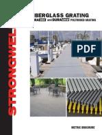 Strongwell - Fiberglass Grating - Metric