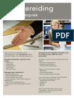 2014 - Verkoopgesprek voorbereiding