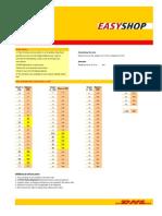 Easy Shop Rates 2013