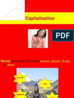 Noun Types and Capitalization Lesson