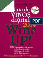 GUIA DE VINOS DIGITAL WINE UP 2014. Edición anual. nº 3