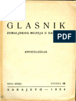 Grbovi Glasnik Zemaljskog Muzeja 1954