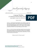 B.2011.2.eneoGobboF-InKoj-1-Silb-SolresolLanguage Whistling: a Comparison between Silbo and Solresol / Lingva fajfado