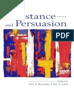 Resistance and Pesuasion