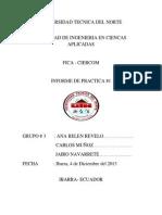 Informe Practica # 1 Grupo # 3