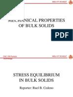 Che 159 - Stress Equilibrium
