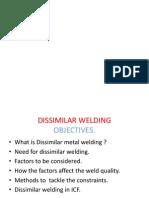 Disimilar Weld