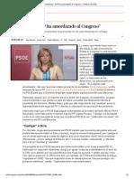 """Valenciano_ """"El PP ha amordazado al Congreso"""" _ Política _ EL PAÍS"""