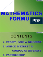 2 Maths Forumulae