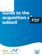 Guide to the acquisition of subsoil
