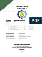 Koefisien Distribusi - Teknik Kimia