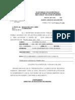Ordenes de Adscripcion Acuerdo Sep - Snte