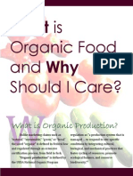 University of Minnesota - Organic Food Report