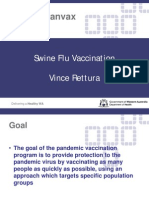 H1N1 Swine Flu Vaccine Panvax Manufacturer Listed Guillian Barre Syndrome as Vaccine Side Effect