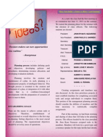 Planning - Tapos Naii