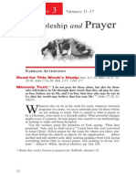 Discipleship & Prayer