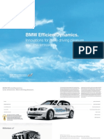Efficient Dynamics Catalogue