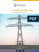 Power Tariffs in India 2014