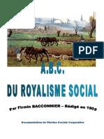 ABC Du Royalisme Social - Corporation