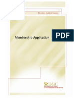 DGC application
