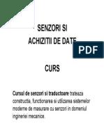 Senzori - Prezentare Romana 2012