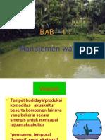 Aquacultur Bab I. Teknik Per Kola Man