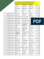 Fee List HSTSP